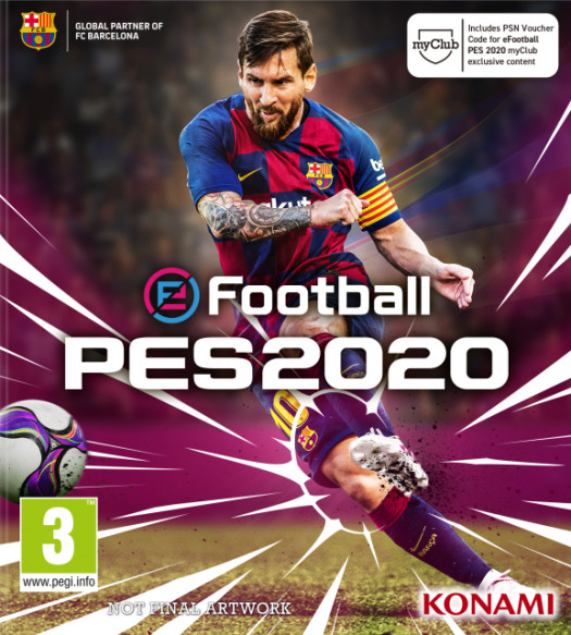 pes 2020 cover